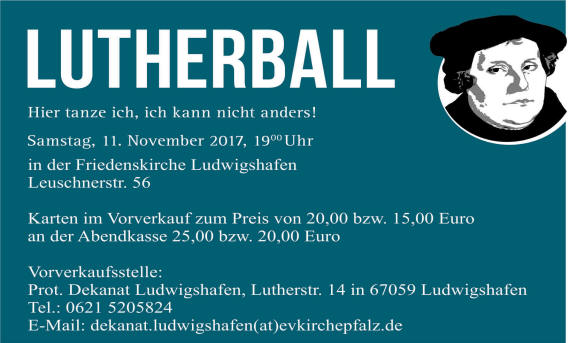Banner Lutherball